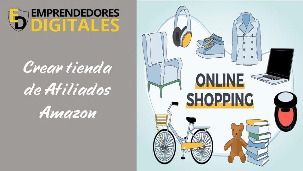 Crear tienda de afiliados de Amazon