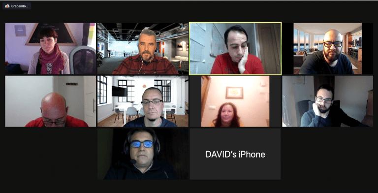 Mentoring grupal Escuela Emprendedores Digitales